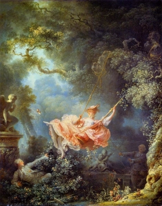 The Swing. Jean Honore Fragonard 1767