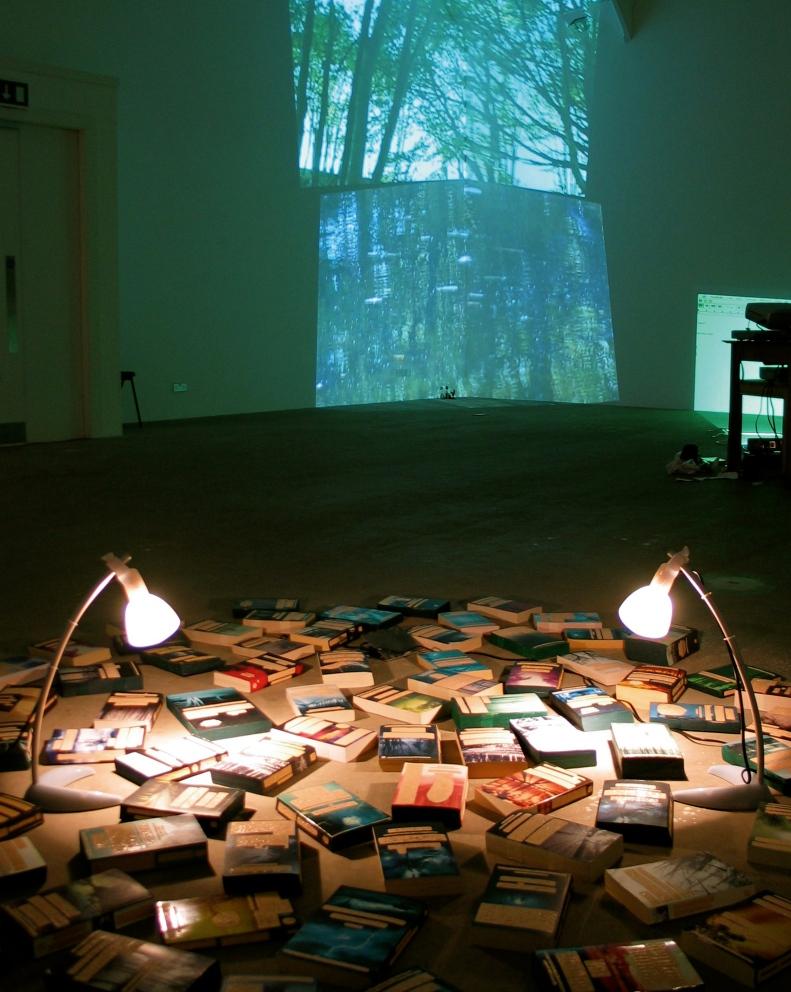 Sylvia Sylvia Oh Where Are You Buried? Multimedia installation, Emma Bolland (2005)