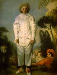 Pierrot (also know as Gilles) (1718 - 19). Jean-Antoine Watteau.