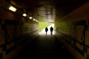 Place and Memory: underpass in Seacroft, Leeds. Photograph Tom Rodgers 2013.